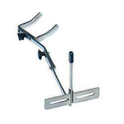 Wall guitar stand, foldable