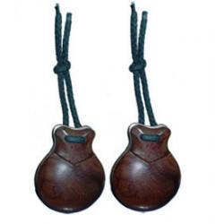 Bombo Ø55x40 cm, natural, parche poliéster, 8 tensores