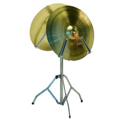 Leg for one pair of cymbals