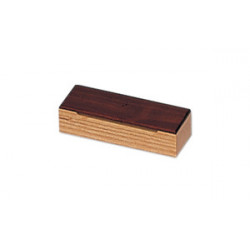"""Caja escuela de Ø30.5 cm / 12"""", acero inoxidable"""