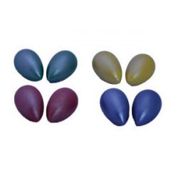 Huevos de madera (colores...
