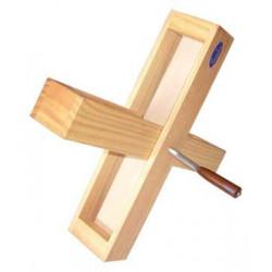 Bombo Ø70 cm cofradía, madera, parches de piel