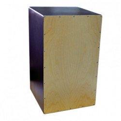 Cajon flamenco, with wires