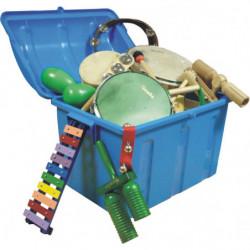 Lote 40 instrumentos (baúl...