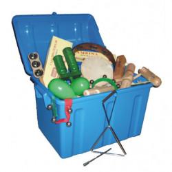 Lote 28 instrumentos (baúl...