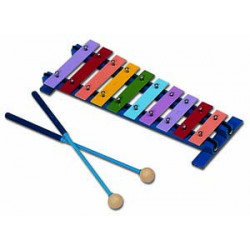 Marching stand lyre for sopranino, super