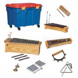 Lote instrumentos material...