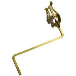 Atril marcha flauta, super, con brazalete metálico