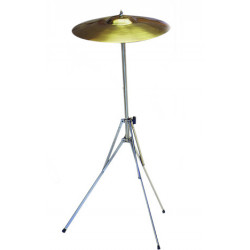 Cymbal leg with leg for...