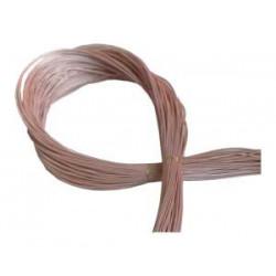 Acero, cuerda suelta eléctrica .015