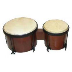 School bongos, calfskin...