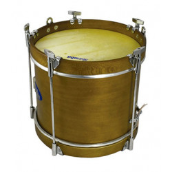 "Ø38.1 cm/15"" x 19 cm, FORCE drum, aluminium. COLOUR"