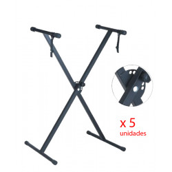 Set of 5 keyboard stands