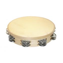 Tambourine Ø30cm, double...