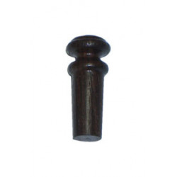 Rosewood violin button