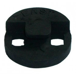 Rubber mute for contrabass