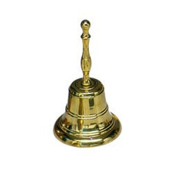 Bell 109x180 mm, bronze w/hand