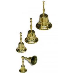 Set of 5 bells, w/hand