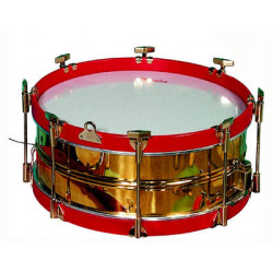 Lacquered Brass drum, 6...