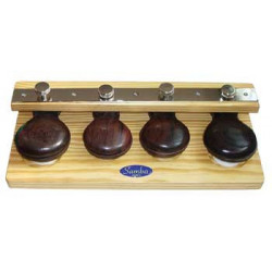 Four castanets on board for...