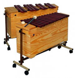 Chromatic bass xylophone,...