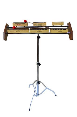 Percusión con soporte