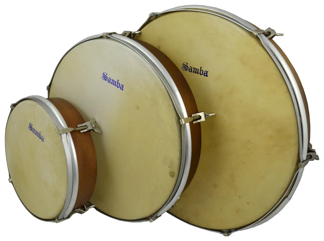 Calfskin hand drums