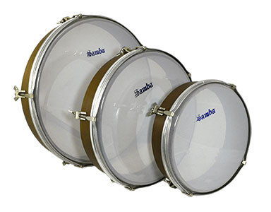 Polyester head hand drums