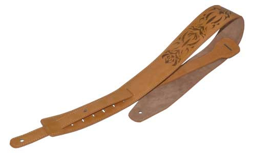 Acoustic and electric guitar straps