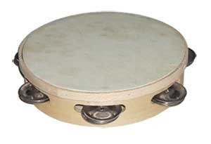 Single jingle tambourines
