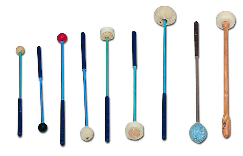 Bar instruments mallets